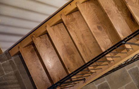 Holzbau Spindler Treppe